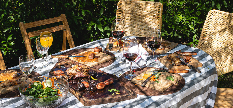 美食与美酒的奢华假期